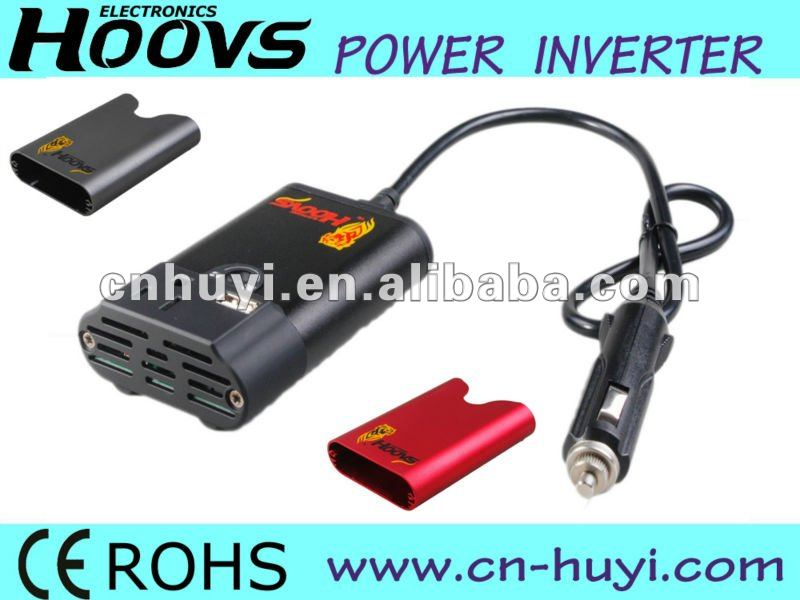 100W Car Power Inverter with USB port