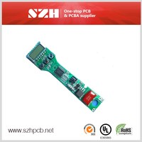 Double-Sided Rigid Aluminum LED PCB Board assembly