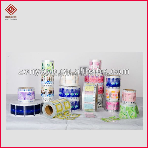 OEM design plastic packaging for household tissue , food, drink, beverage, makeup, shopping bag