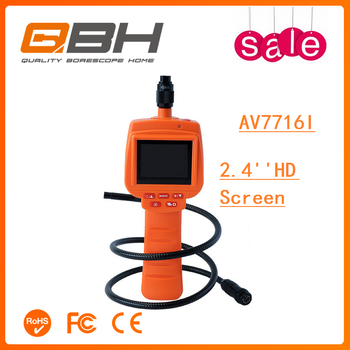 High quality remote pipe inspection video camera