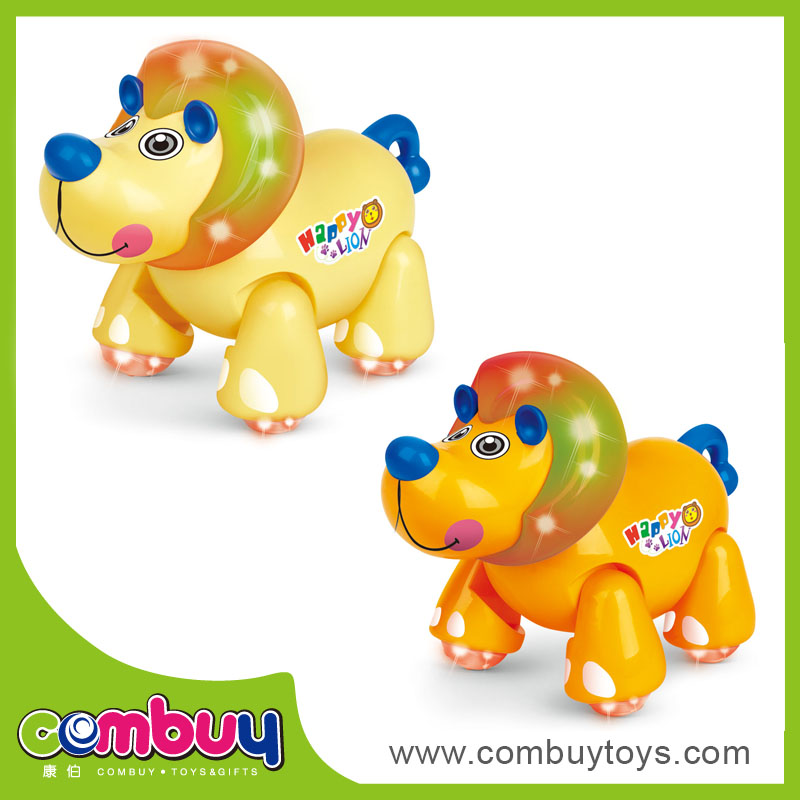 Most popular battery operated Intelligent small plastic lion toys