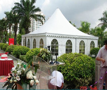 Muslim trade show Beach dome Waterproof 6x6 aluminum structure roof top Pagoda Gazebo Tents