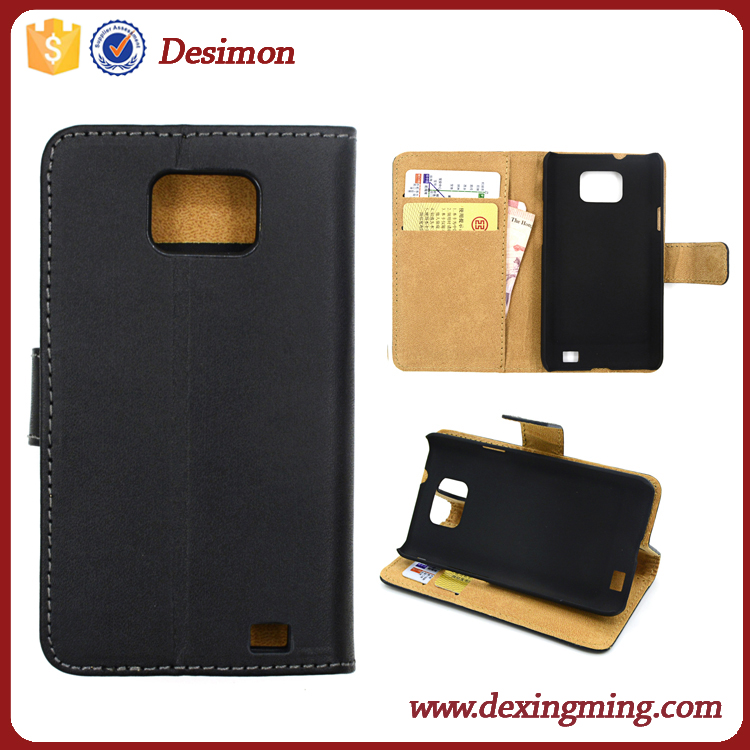 Factory supplier sublimation leather case for samsung S2 9100