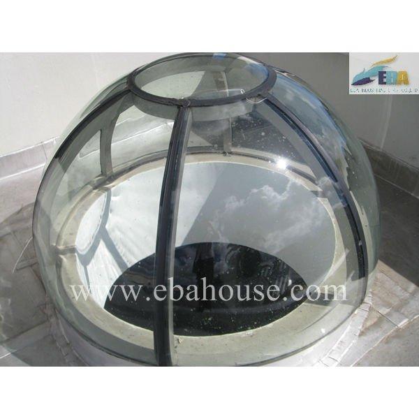 Sp ciale fen tre cadre design fixe en aluminium de puits for Cadre fenetre aluminium