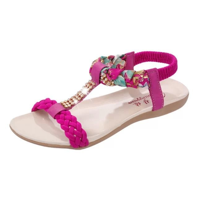 Guangzhou Girls New Collection Flat <strong>Sandals</strong> For Online Retail Store