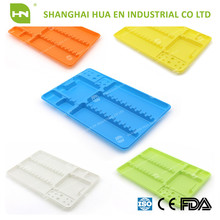 Medical disposable Dental Divided Instrument Plastic fit Tray