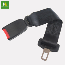 Strength nylon portable car seat belt extender / removable seat belt