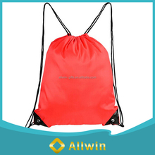 Hot Sale Travel Outside Waterproof Fabric Drawstring Backpack