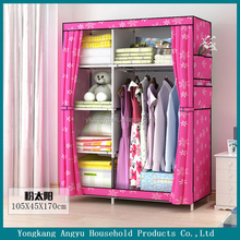non-woven fabric cheap folding cupboard wardrobe