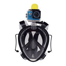 2017 New Arrival Swimming Training Scuba merg Anti Fog Full Face Snorkeling Set with Ear Plug diving equipment mask set