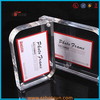 2015 acrylic wholesale photo frame high quality acrylic magnetic photo frame