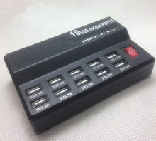 Multi USB 10 Ports Charger Desktop Rapid Charging Station