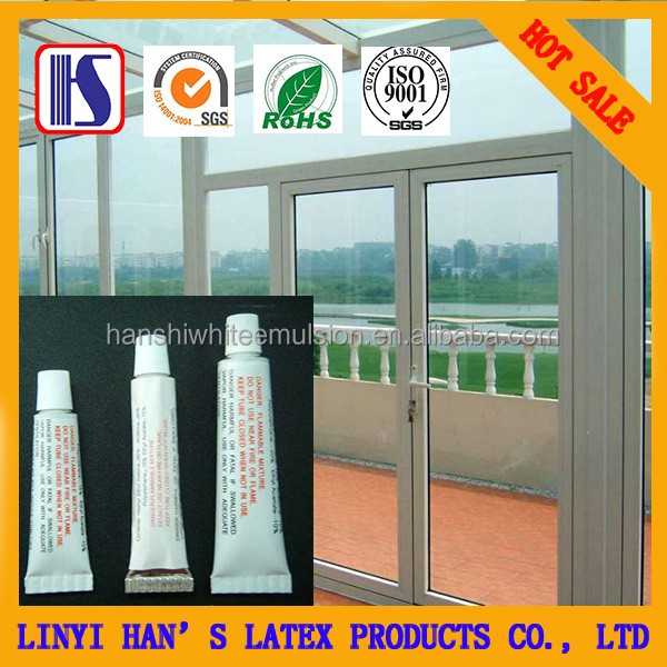 Han's OEM water based PVC repair glue for steel door and window with ROHS