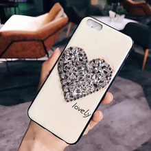 Fashion Jewel Decoration Protective Case For iphone X