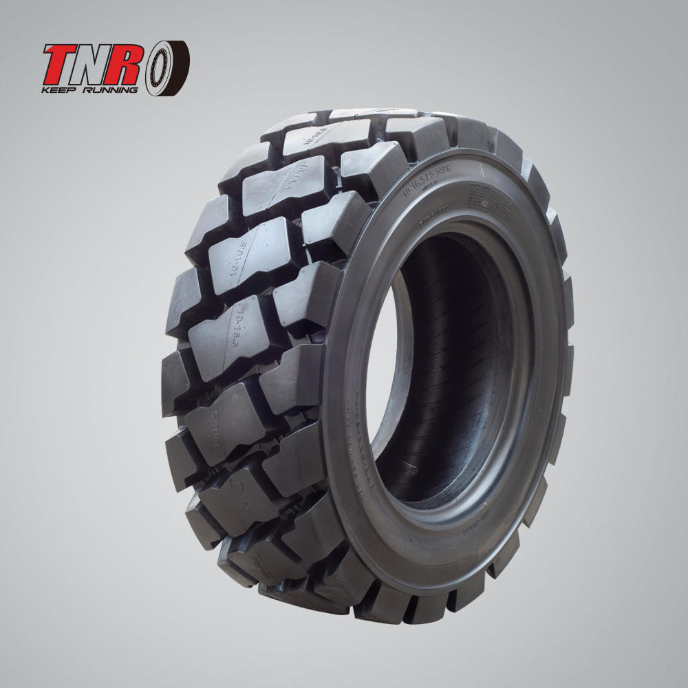 skid steer <strong>tire</strong> 27X8.50-15 10PR Supergrip brand ZM789 pattern