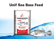 Unif Aquatic Fish Feed, Sea Bass Extruded Floating Feed, 20kg, #1(2.5mm)