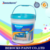 Berocks eggshell super washing interior wall paint/paint wall putty