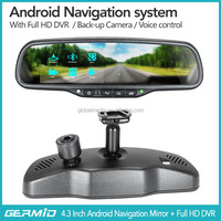 Garmin android gps for bmw e39 with 4.3inch touch screen monitor, bluetooth hands free car kit,reversing camera,wifi