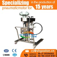 High quality cheap automatic pneumatic lift mixer/air pneumatic mixer/air gas mixer
