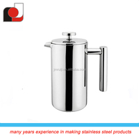 0.8 Liter Double Wall Stainless Steel French Coffee Press