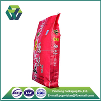 Manufacture Plastic PP Woven Bag for Foods with PE Film Sewing Bottom