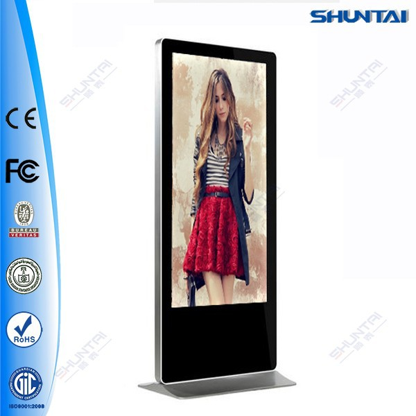 46 inch HD media network tv vertical lcd advertising monitor