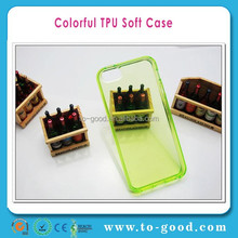 2015 Promotional Free Shipping Soft Silicone Clear Back Bumper Case For iPhone 4 Case TPU