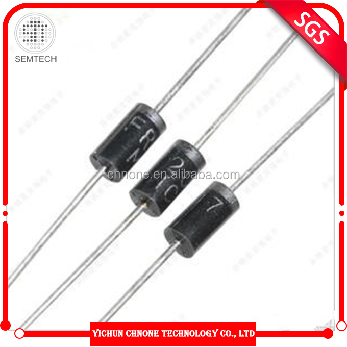 Rectifier diodes for generator FR207 DO-15 200 amp fast recovery diode