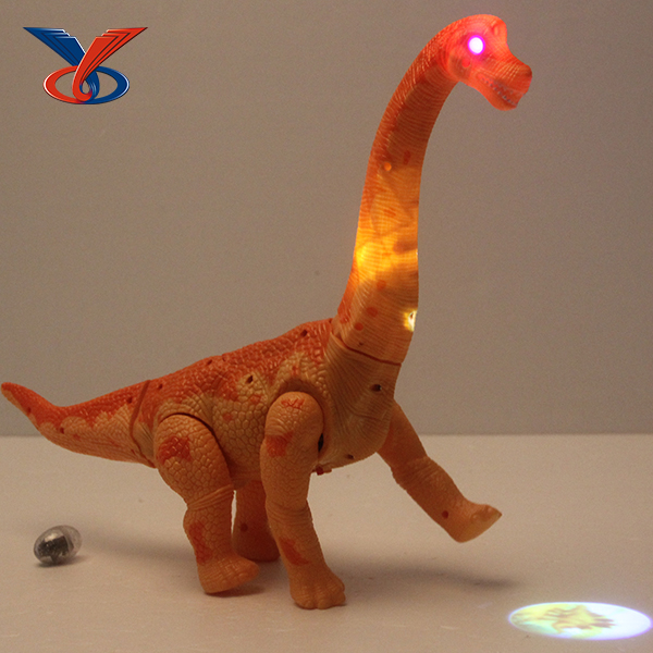Funny projection toy laying egg electric dinosaur with sound and light