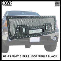 Auto Part Jeep Wrangler Accessory Grille in Stainless Steel Material