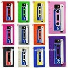 Tape Color Silicone Back Case for Samsung Galaxy S2 (i9100)