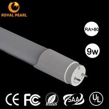 New ark japan Led Tube8 sex Led Tube Light 9w 2 Years Warranty with CE & ROHS zhongshan Factory