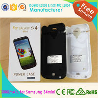 Backup Battery Pack Power Charger Case For Samsung Galaxy S4mini 2200mah