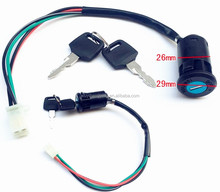 4 wire key switch for ATV gy6 scooter dirt bike motorcycle