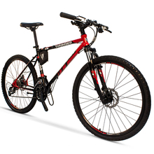 China Hot Sales 27 Speed Red Aluminum Alloy 26 Inch Mountain <strong>Bike</strong>
