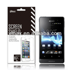 Cell phone screen guard protector for Sony xperia go st27i oem/odm (High Clear)