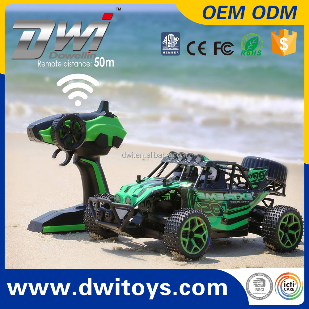 DWI Model Car 1:18 2.4Ghz High Speed Radio Control Off Road Monster Truck 20KM/H