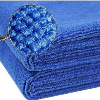 China supplier factory produced microfiber towel , car cleaning towel