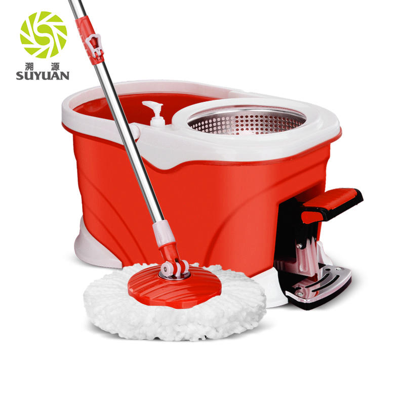 Foot Pedal Easy Rotate <strong>360</strong> Mop electric mop spin with bucket