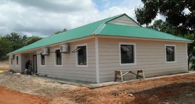 Small modern village villa house design in nepal buy for Small house design nepal