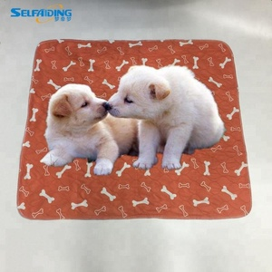 2Pcs Reusable Washable Dog Pee Puppy Training Potty Pads Quick Drying Surface Super Absorbent Core Pet trainers