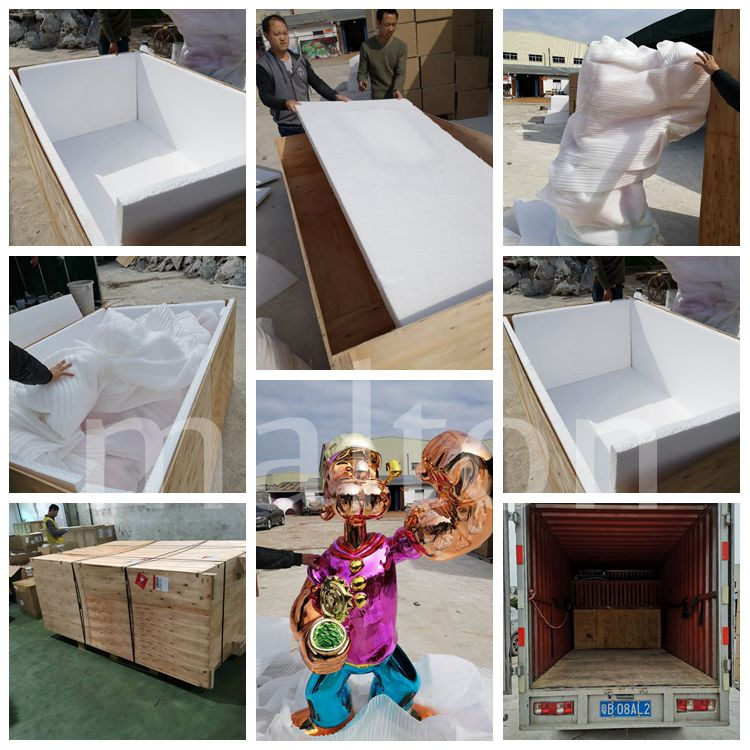 Wholesale products cartoon decoration fiberglass popeye statue for sale
