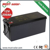 Factory Battery Price 12v 100Ah Deep Cycle Solar Energy Storage Battery