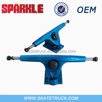 "GA-10"" Blue Skateboard Trucks OEM Available"