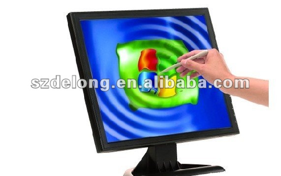 "17"" Samsung lcd panel touch screen monitor"
