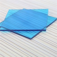 SGS approved 3mm/4mm/5mm diamond plasitc polycarbonate sheet for canopy awning
