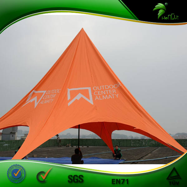 Top Outdoor Star Shade Promotion High Quality Custom Star Tent for Leisure