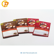 Heat Seal Gravure Printing Medical Marjuana Packaging Chew Tobacco Packaging With Zipper and Window