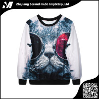 Animal woman T-shirt long sleeves tees & tops harajuku estampado clothing