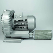 Economic and Efficient double stage regenerative air blower for cement conveying with SGS certificate